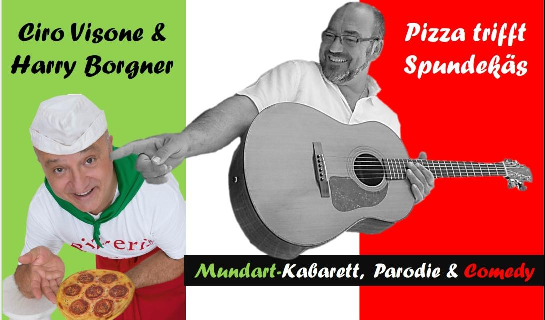 Ciro Visone & Harry Borgner:  Pizza trifft Spundekäs