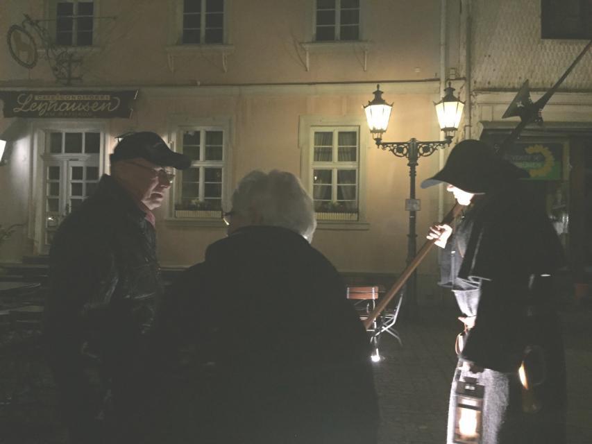 Auf Nachtpatrouille durch Michelstadt