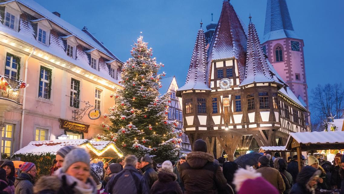 Weihnachtsmarktführung in Michelstadt