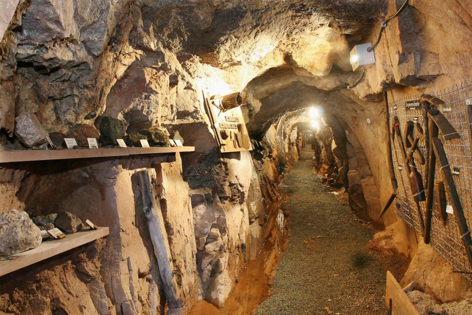 Das ehemalige Bergwerk Grube Ludwig