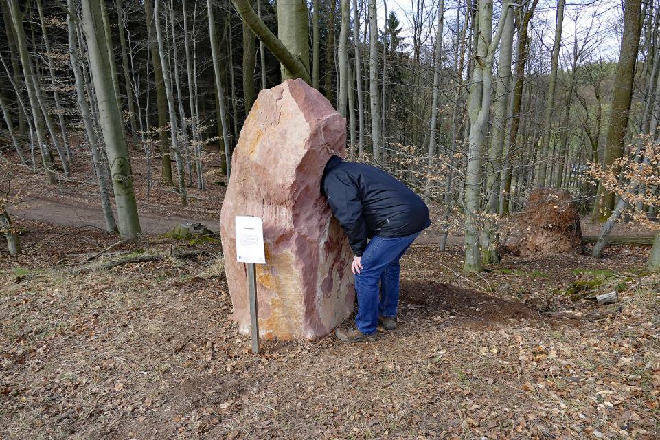 Auf dem Klangwanderweg bei Hammelbach