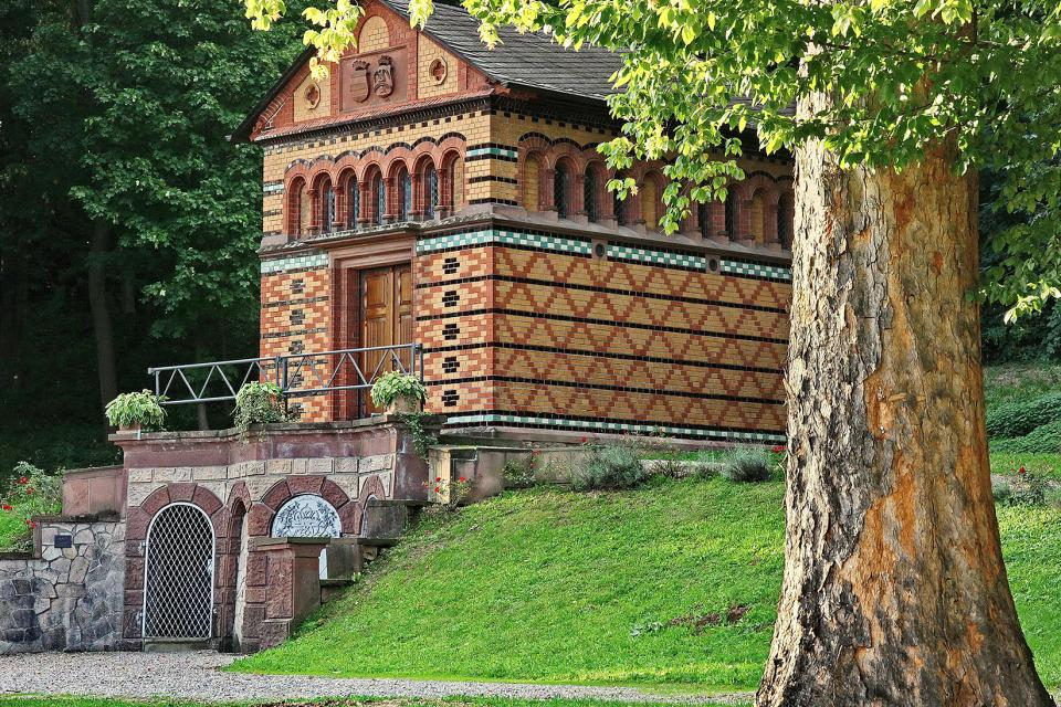 Die Sarolta-Kapelle in Fränkisch-Crumbach