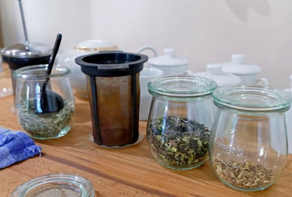 Verkostung von Tee und Gewürzen in Mömlingen