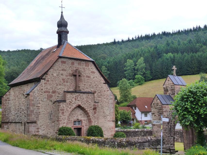 Besuch der Quellkirche in Schöllenbach