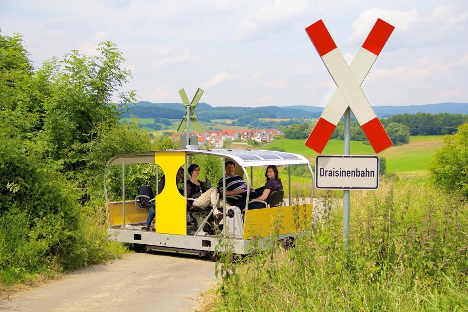 Solardraisine - Überwaldbahn