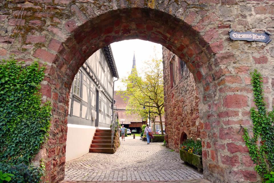 Erasmus Pforte - Odenwald Tourismus GmbH