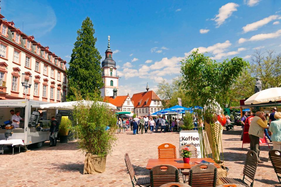 Historische Altstadt Erbach im Odenwald