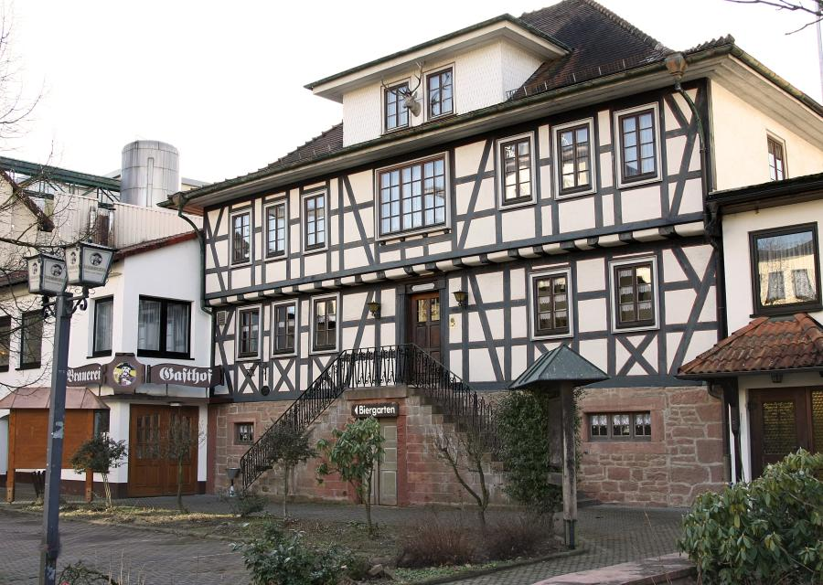 """Brauereigasthof """"Zum Hirschwirt"""""""