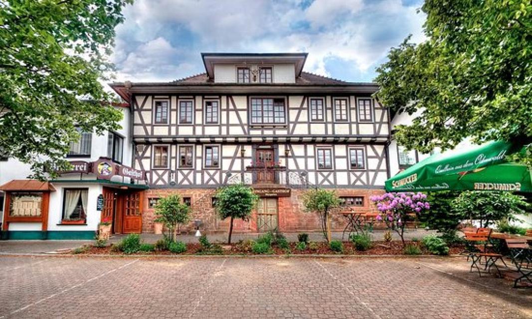 """Odenwald-Brauereigasthof """"Zum Hirschwirt"""""""