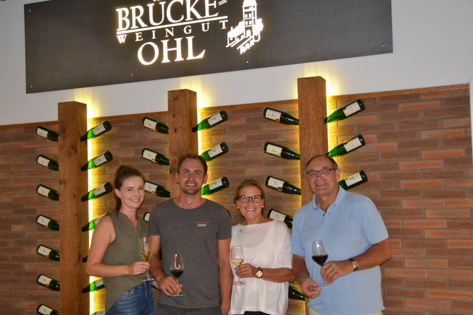 Weinbergtouren mit dem Weingut Brücke-Ohl