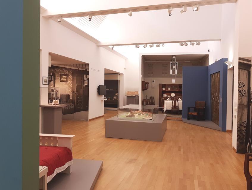 Mathildenhöhe und Museum Künstlerkolonie