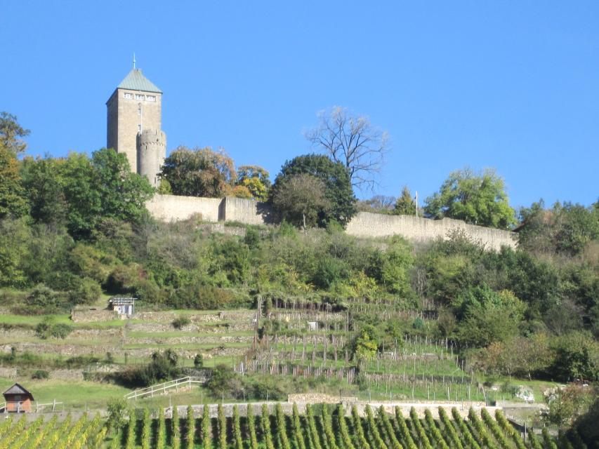 Burgführung in Heppenheim
