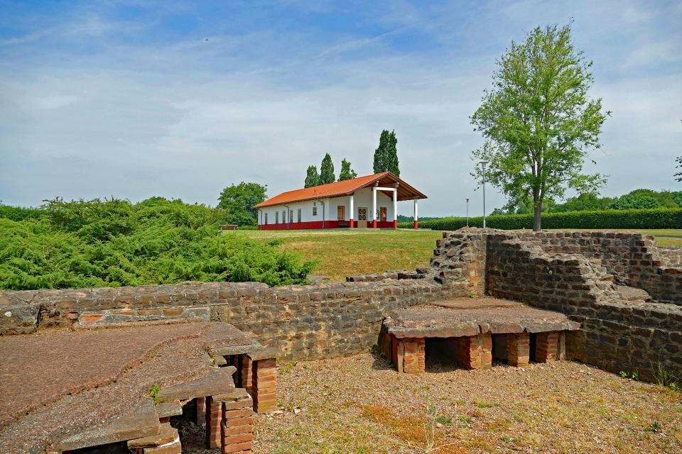 Führung durch die römische Villa Haselburg