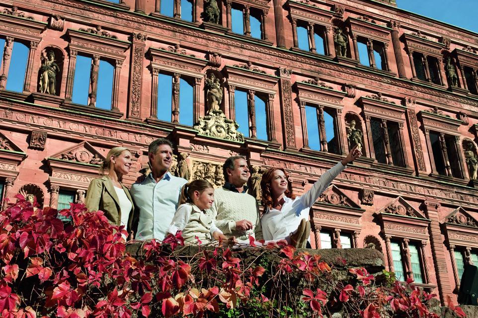Klassische Führung auf Schloss Heidelberg