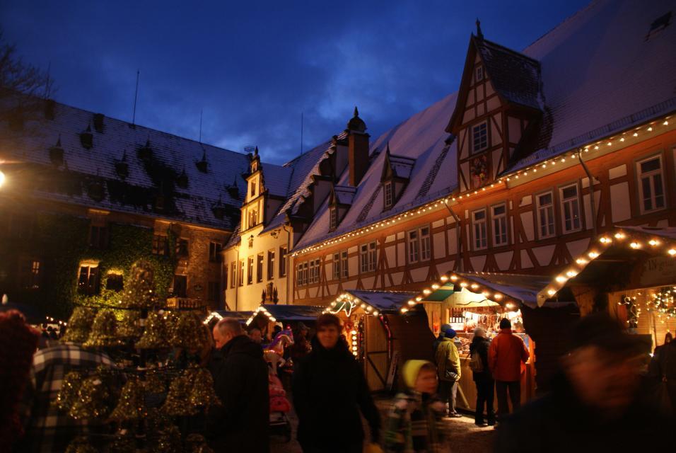 Weihnachtlicher Stadtrundgang durch Erbach