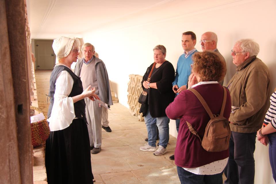 Führung in der Abtei Amorbach