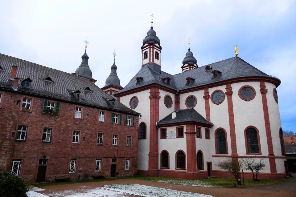 Führung durch die Abtei Amorbach