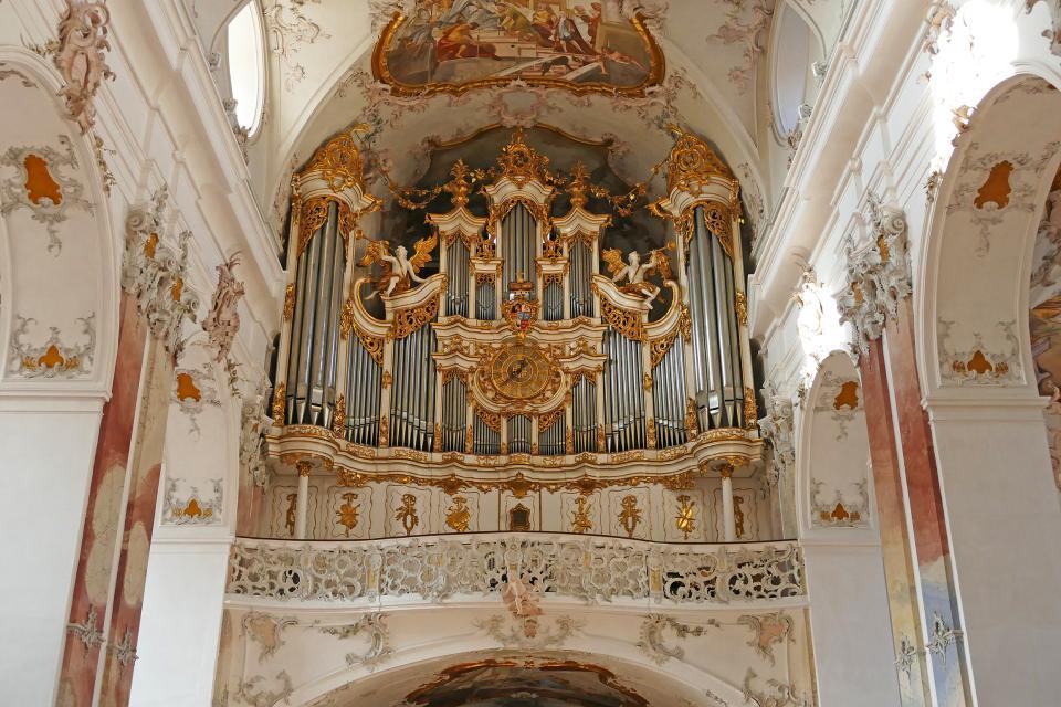 Abtei Amorbach mit Orgelvorspiel