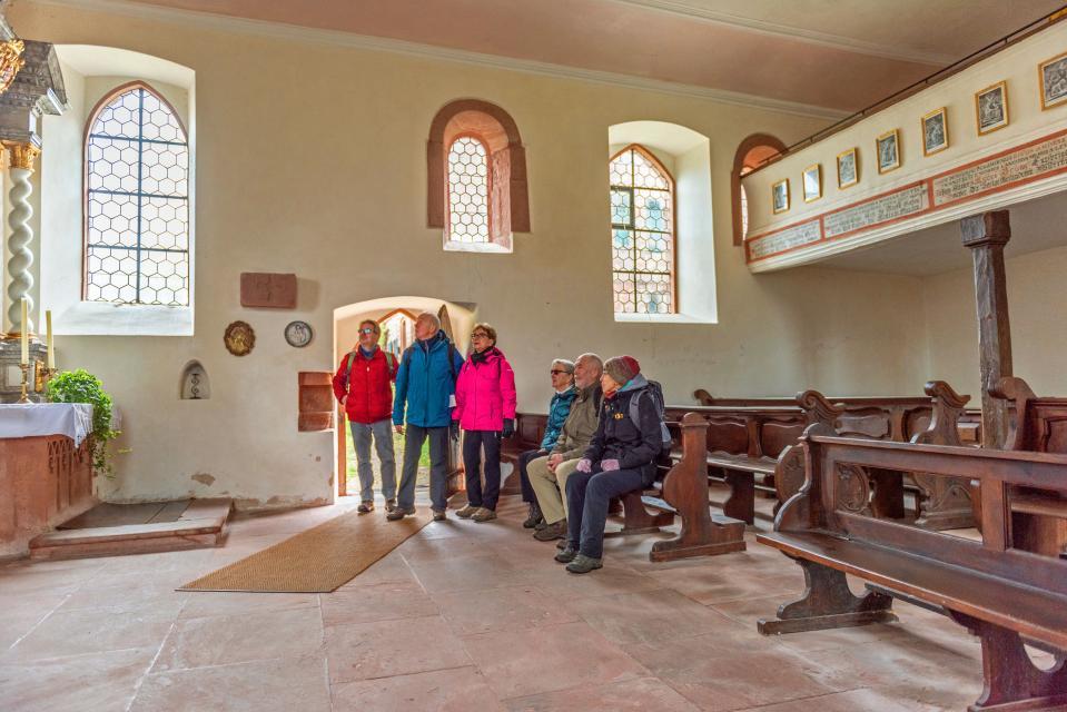 Ausflug zur Kapelle Amorsbrunn