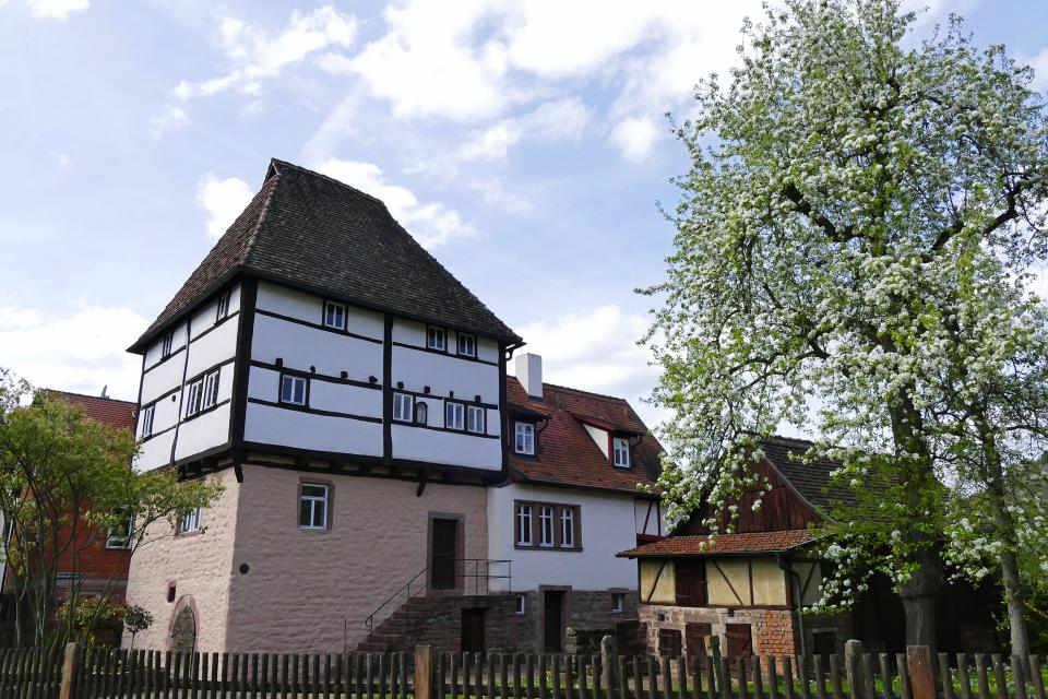 Besichtigung des Templerhauses in Amorbach