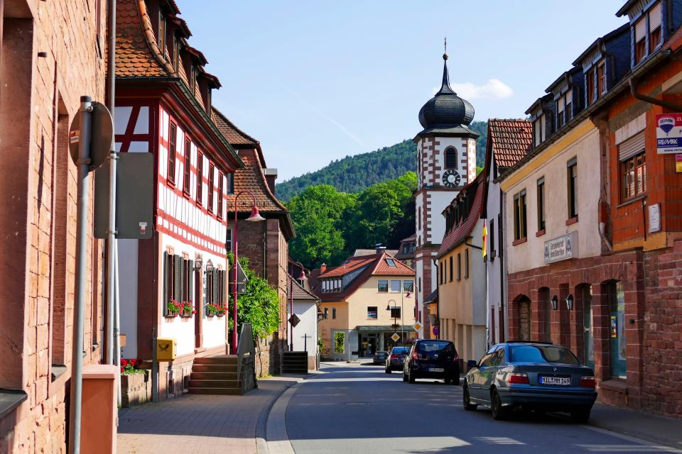 Rundgang durch Laudenbach am Main