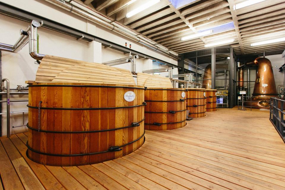 Wasser und Whisky in Rüdenau