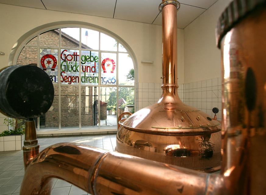 Besichtigung der Brauerei in Pfungstadt
