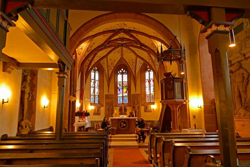 Die Laurentius-Kirche zu Fränkisch-Crumbach