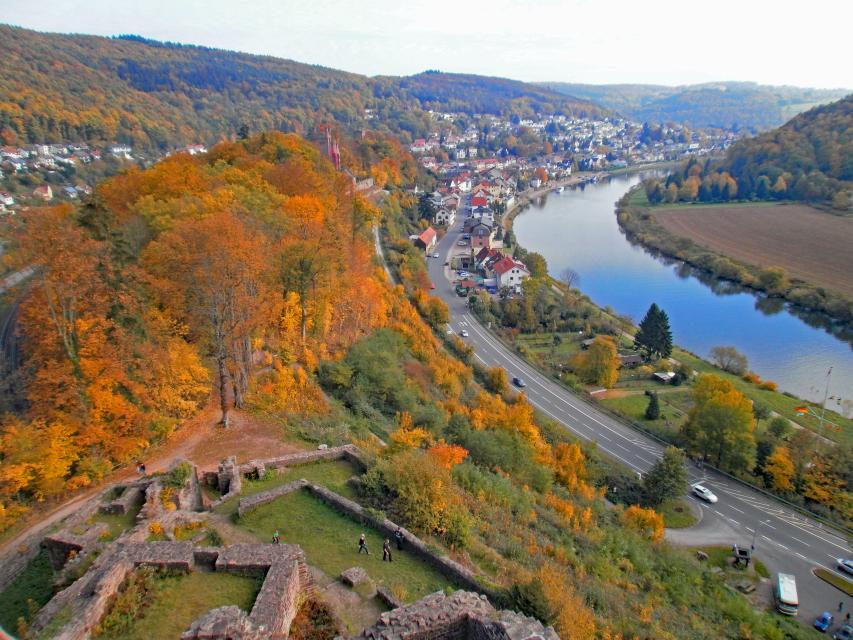 Wandern auf dem Neckarsteig in 8 Tagen