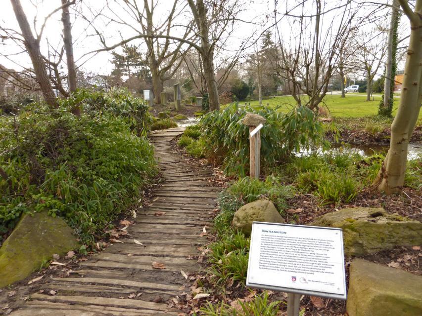 Geologischer Garten im Bürgerpark
