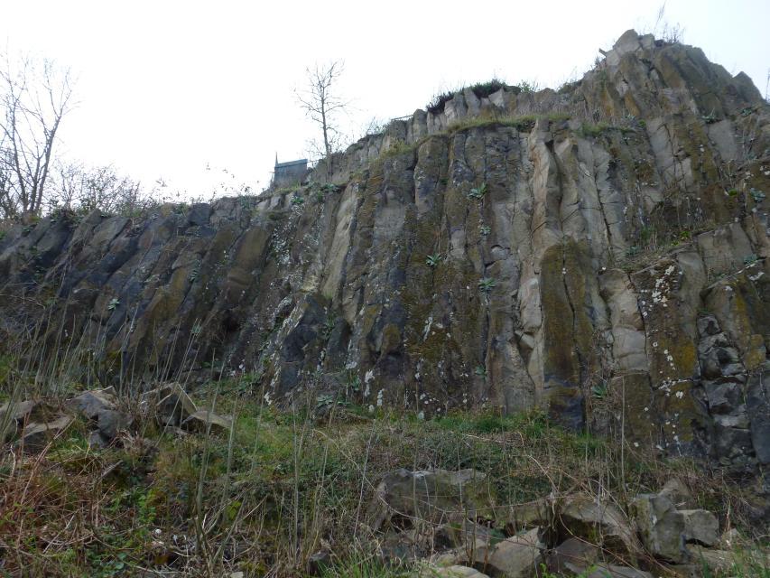 Basaltsäulen Otzberg