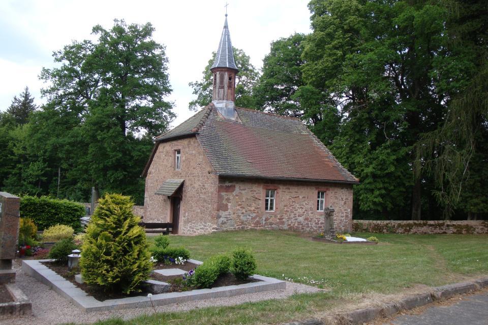Friedhofskapelle Sensbacher Höhe