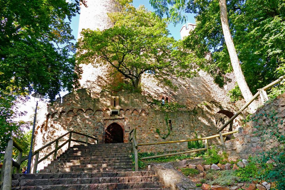 Schlosstreppe - Odenwald Tourismus GmbH