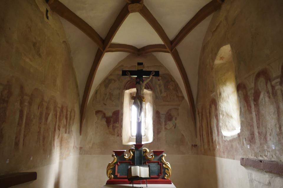 Karolingische Friedhofskapelle