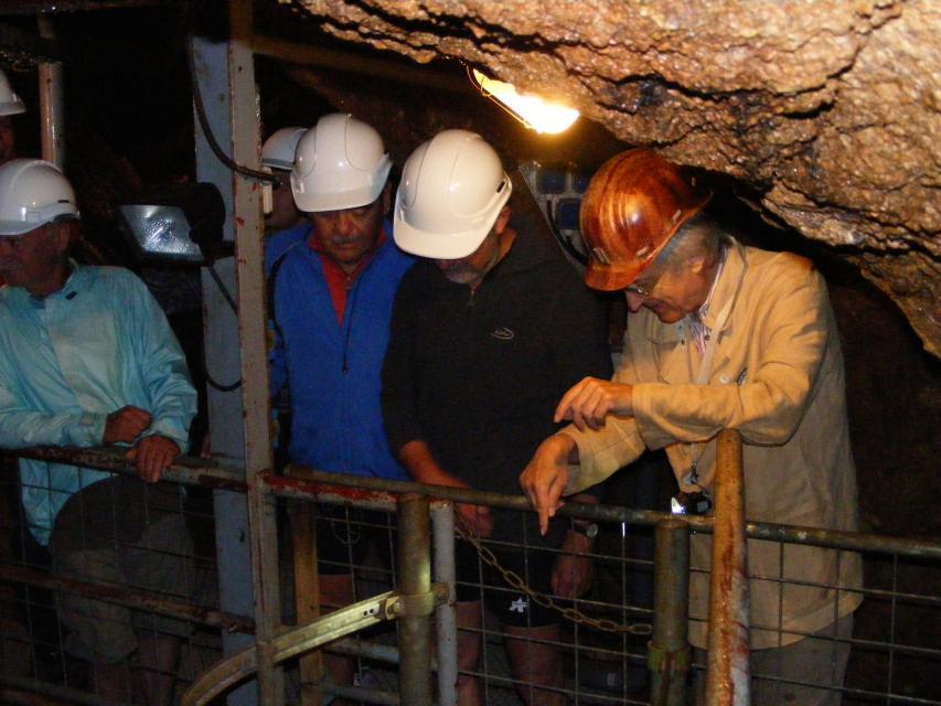 Besucherbergwerk Grube Marie in der Kohlbach
