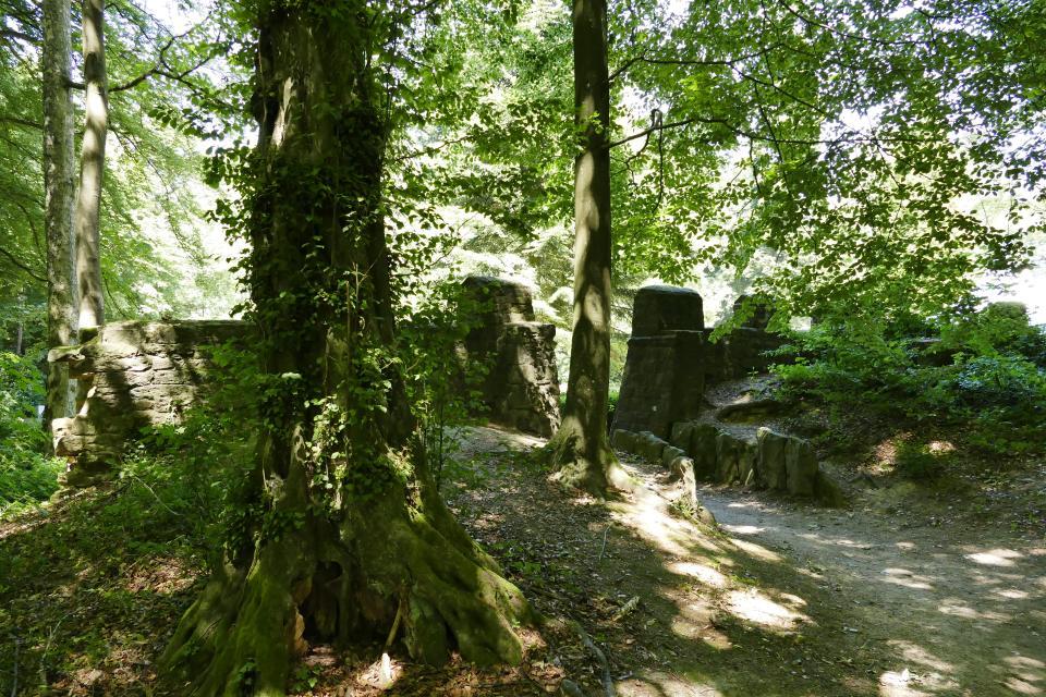 Odenwald-Limes: Kastell Eulbach im Eulbacher Park