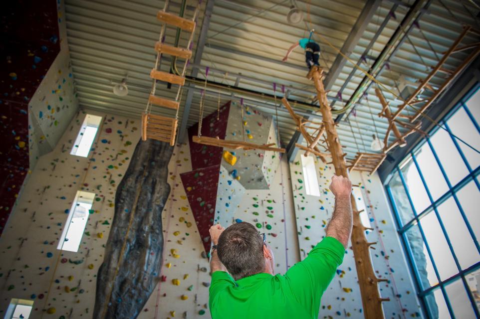 Kletterhalle und Hochseilgarten HIGH-MOVES