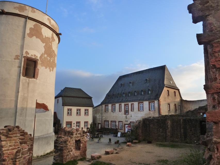 2-Burgen-Radweg - Von der Veste Otzberg zur Burg Breuberg
