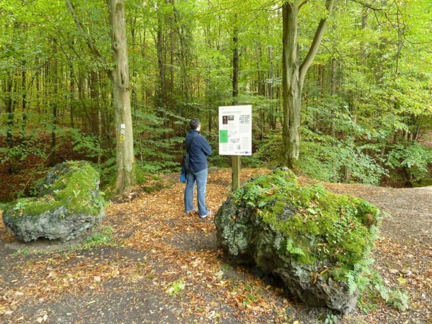 """Michelstadt: Geopark-Pfad """"Kulturhistorischer Wanderweg Steinbach"""""""