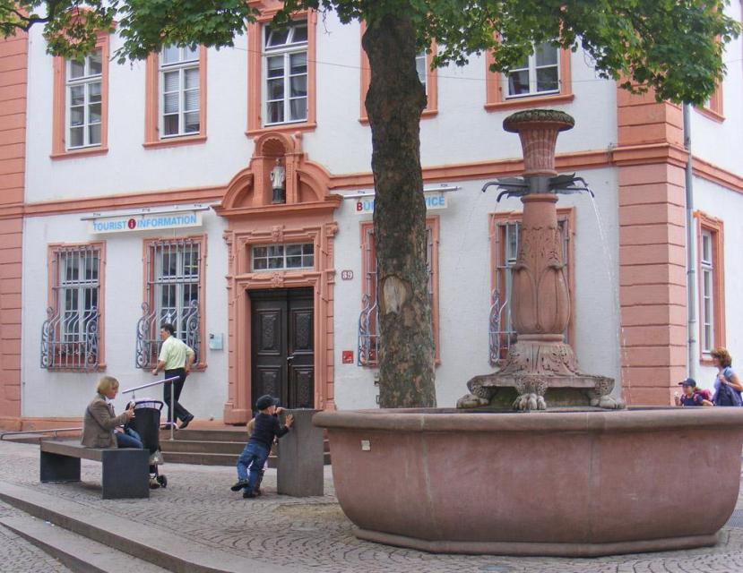 Touristinfo Bensheim -