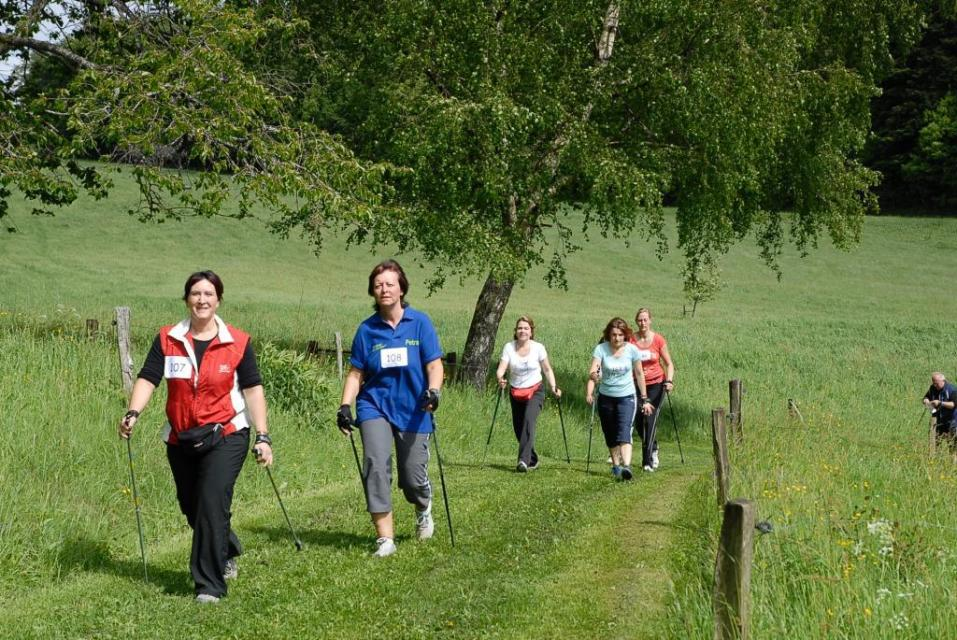 Nordic Walking Tour - Zum Wiesenbiotop Kleine Striet