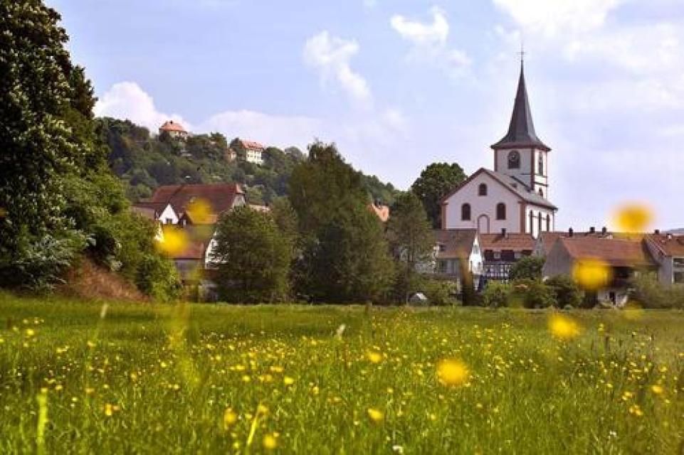 Rundkurs Rodensteiner Land - Zur Ruine Rodenstein und entlang der Gersprenz