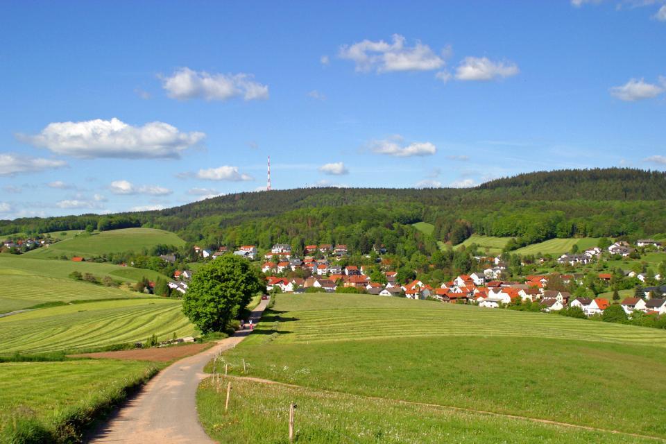 Mountainbike-Rundstrecke Abtsteinach A1