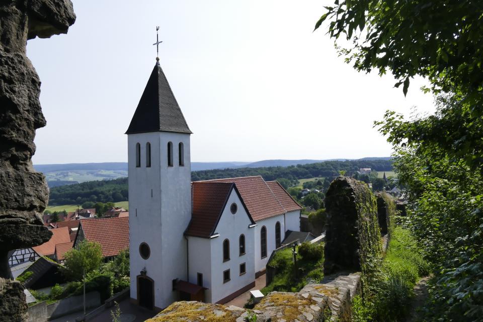 Burgen-Radtour im nördlichen Odenwald - RMV-Radtour 7a