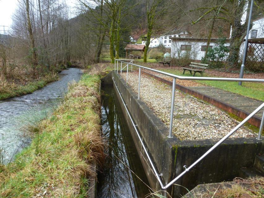 """Geopark-Pfad """"Wasserarmut in einem regenreichen Gebiet"""" - Finkenbach-Runde 2"""