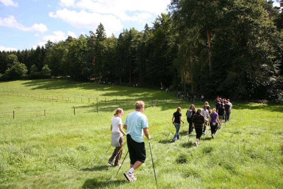 Nordic Walking Tour 9 - Von Zell zur Russeneiche