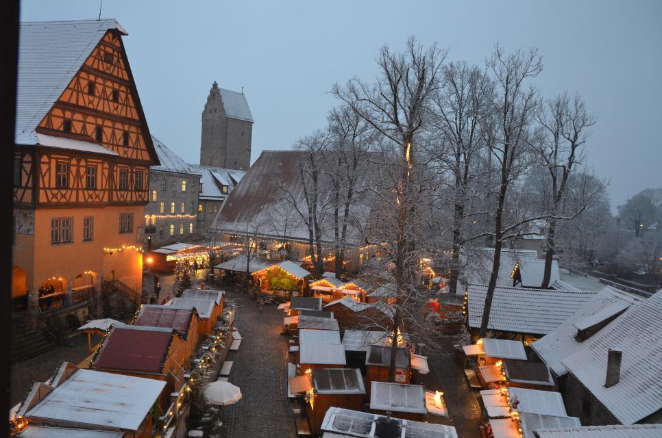 Weihnachtsmarkt Dinkelsbühl / Weihnachtliches Dinkelsbühl