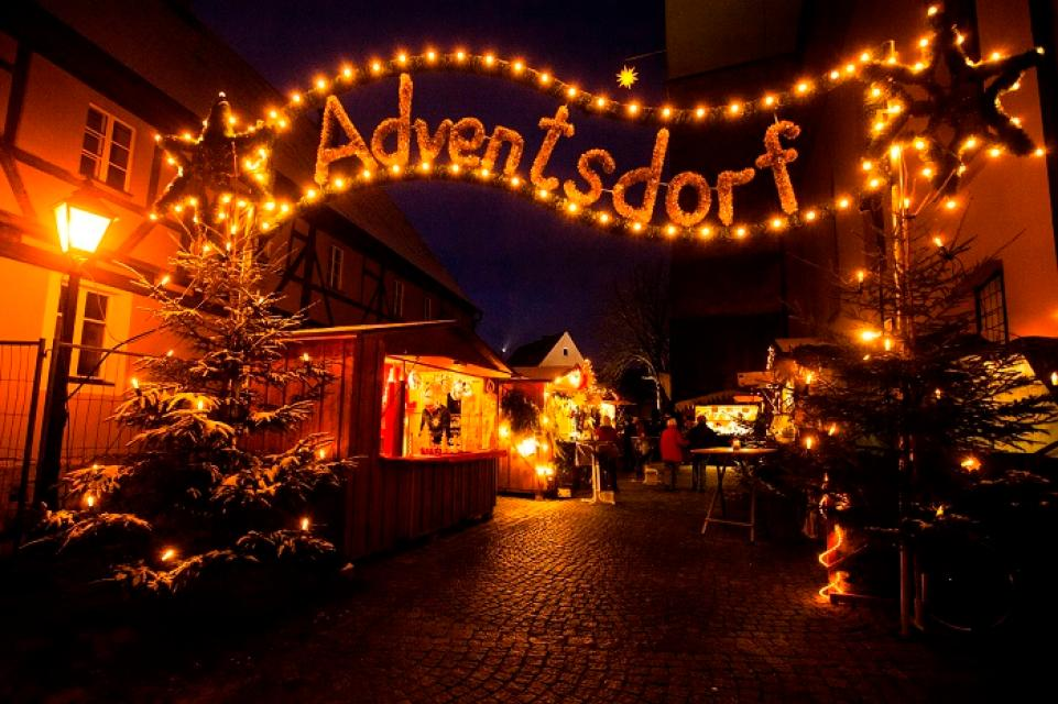 Trüdinger Adventsdorf