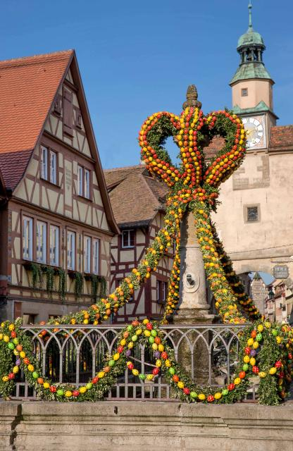 Rothenburger Frühlingserwachen