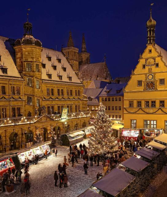 Rothenburger Reiterlesmarkt - Mehr Weihnacht als Markt